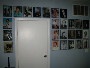"The infamous ""Wall of Doctors"""